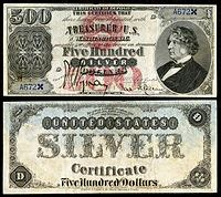 Large denominations of United States currency - Wikipedia