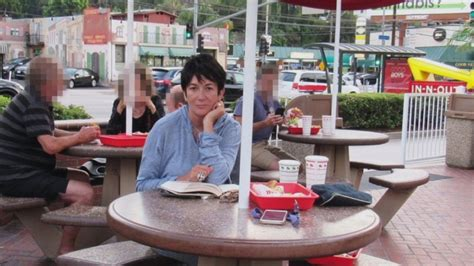 Infamous Photos of Ghislaine Maxwell at In-N-Out Burger