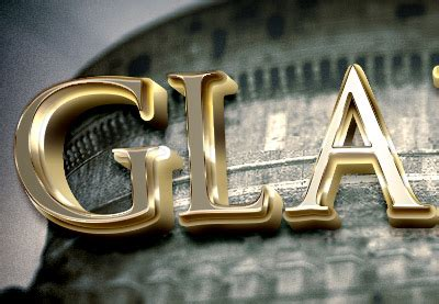 How to Create a 3D Golden Cinematic Text Action in Adobe