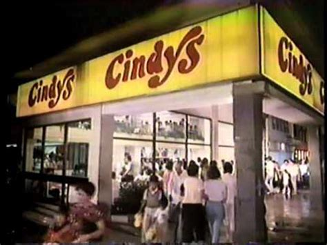 Cindys 80s Commercial - YouTube