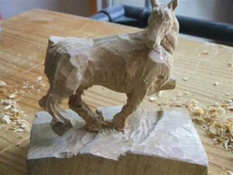 WOOD CARVING!! [Horse] - YouTube