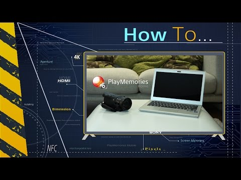Téléchargement de PlayMemories Home