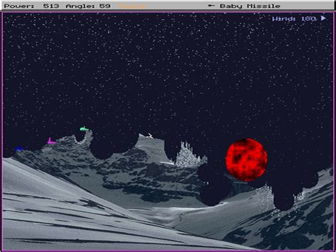 Download Scorched Earth   DOS Games Archive