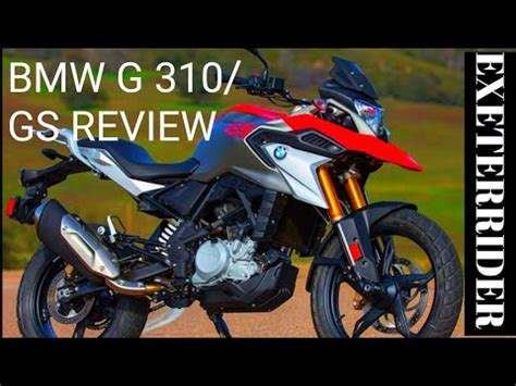 BMW 310GS REVIEW BY EXETER RIDER - YouTube