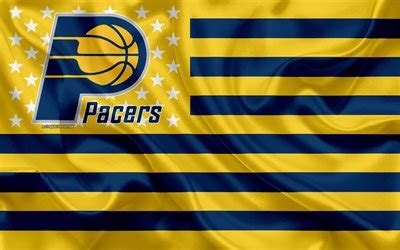 Download wallpapers Indiana Pacers, American basketball